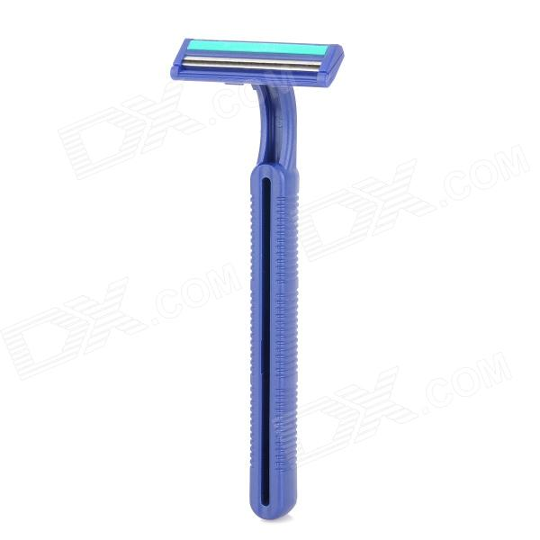 Disposable Manual Shaver Razor w/ Blades - Blue