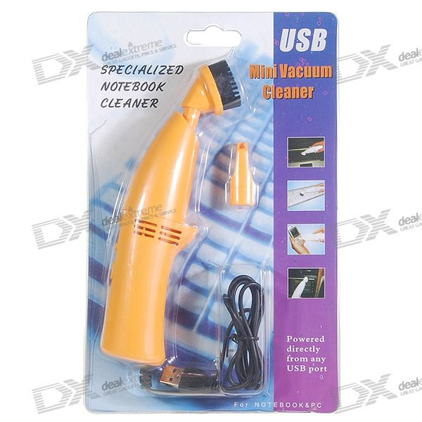 USB Mini Vacuum Cleaner with Interchanging Heads (Yellow) элла фитцжеральд ella fitzgerald ella for lovers