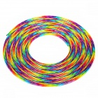 Car Chrome Effect PVC Air Vent Decorative Strip - Colorful (15m)