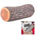 Cute Wooden Log Pillow Cushion - Brown