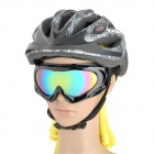 Fashion Reflective PC Lens Safety Motorcycle Goggles
