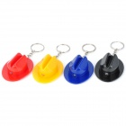Cowboy Hat Style Mini LED Flashlight w/ Keychain (3 x LR41 / 4 PCS)