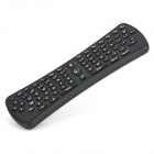 2.4G Wireless 1200DPI Air Mouse + 76-Key Keyboard - Black (3 x AAA)