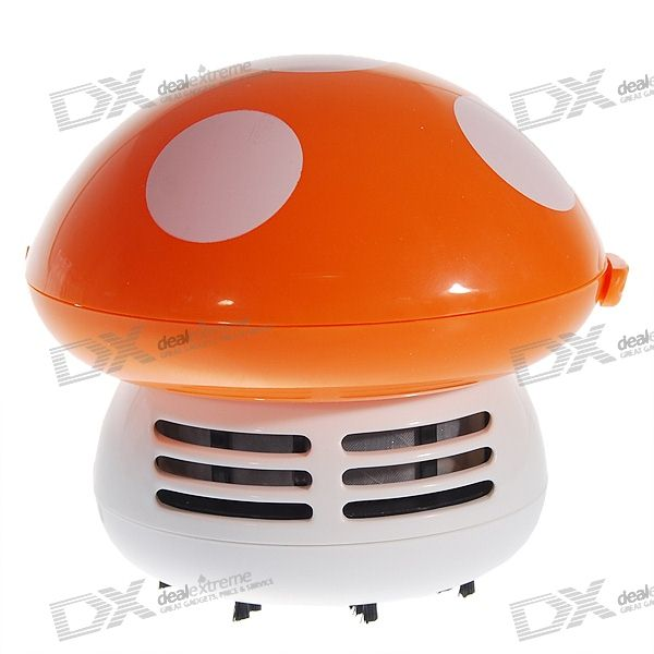 Mushroom Shaped Electronic Dust Cleaner (2*AA)