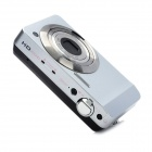 "HDC-X10 2.7"" TFT 5.0MP 5X Optical Zoom Digital Camera - Silver + Black"
