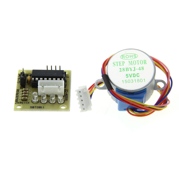 4 Phase 5 Wires Stepper Motor with UL2003 Driver Board