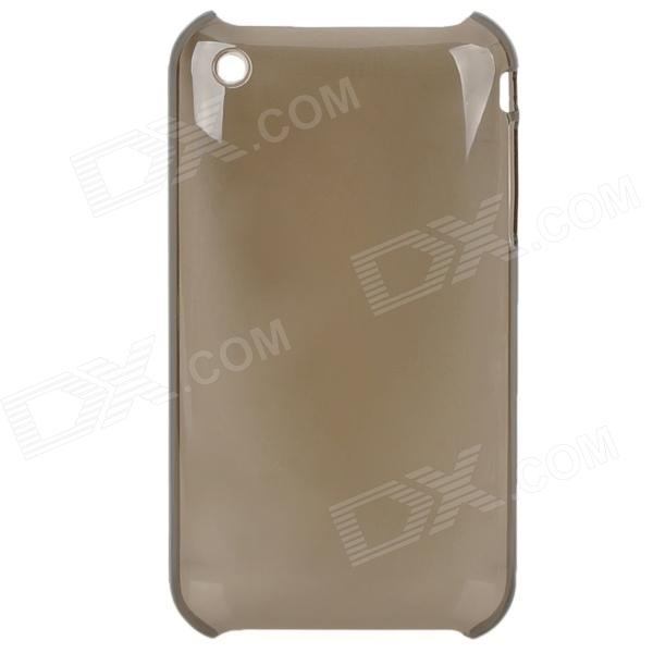 Protective Backside Case for Iphone 3g (Translucent Black)
