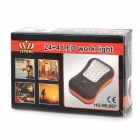 Multifunction 24 + 4 LED White Light Camping / Working Lamp (3 x AAA)