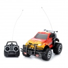 Rechargeable 1:16 2-Channel 27~40MHz R/C Off-Road Vehicle Model Toy w/ Music - Red