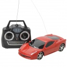 Cool 1:28 Scale 4-CH Radio Control R/C Racing Car Model - Red (3 x AA)
