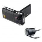"F900AV 2.5"" TFT 5.0MP 720P CMOS Wide Angle Car DVR Camcorder w/ Car Charger - Black (DC 12~24V)"