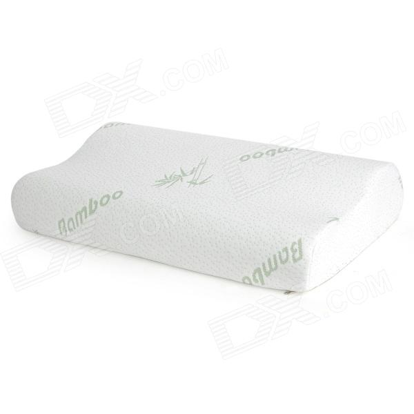 Healthy Polyurethane Antibacterial Anti-mite Memory Foam Pillow - White фен elchim 3900 healthy ionic red 03073 07