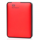 "Genuine Western Digital My Passport 2.5"" USB 3.0 HDD Hard Disc Drive - Red (1TB)"