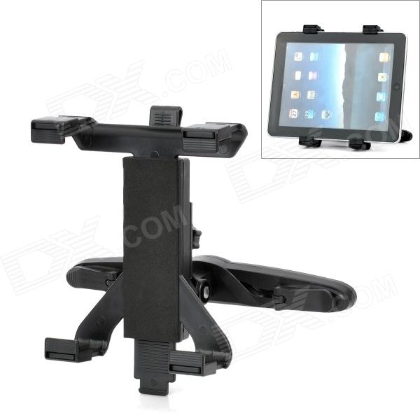 Universal Car Seat Pillow Mount Holder for Tablet PC - Black universal full rotating gooseneck mount stand for 7 tablet pc ipad mini black
