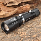 Ruisuo RS-S11 Cree XM-L T6 900LM 5-Mode White Light Flashlight - Black (1 x 18650)
