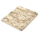 Tactical Breathable Mesh Face Veil Head Cover Scarf - Camouflage