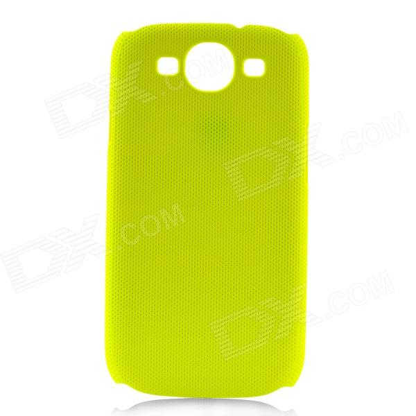 Fashion Network Protective PC Back Case for Samsung Galaxy S 3 i9300 - Fluorescent Green
