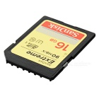 Genuine SanDisk Extreme SDHC 600X High-Speed Memory Card (16GB / Class 10)