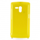 Rock Jewel Protective Polycarbonate Case w/ Screen Protector  for SONY MT25i - Yellow