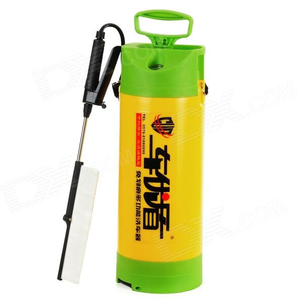 Multi-Function High Pressure Car Washer Auto Cleaner Set - Yellow + Green