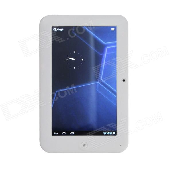 "MS-717 7"" Capacitive Screen Android 4.0.3 Tablet PC w/ TF / Wi-Fi / Camera / G-Sensor - White"