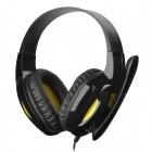 Sades SA-707 Headphone w/ Microphone - Black (3.5mm / 220cm)