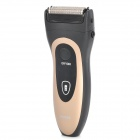 POVOS PW806 Electric 2-Blade-Head Reciprocating Shaver Razor - Golden + Black (AC 100~240V)