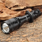 SmallSun ZY-A629 Cree XR-E Q5 350lm 4-Mode White Light Flashlight - Black (1 x 18650)