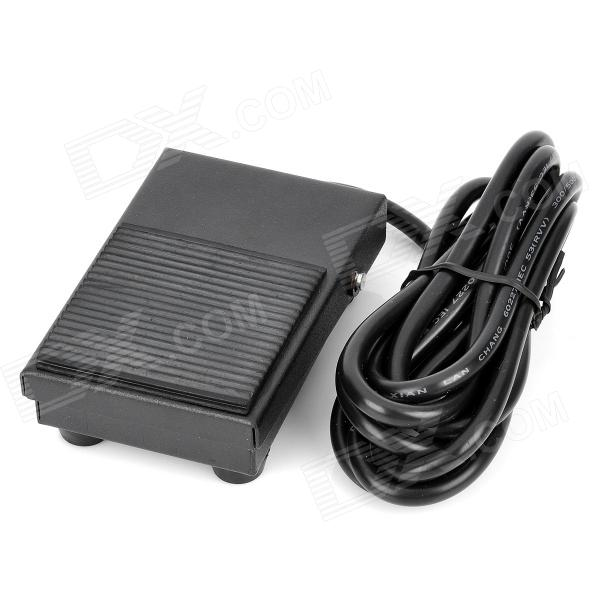 Elétrica Foot Switch Pedal Power - Black (AC 250V / 200 centímetros de cabo)
