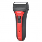 POVOS PS2203 Washable Electric Single-Blade Reciprocating Shaver Razor - Red