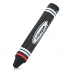 Novelty Universal Crayon Style Capacitive Screen Stylus - Black