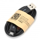 USB to Micro USB Data Charging Cable for Samsung - Black (90cm)