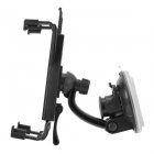 Car Windshield Swivel Mount Holder for Samsung Galaxy Note 10.1 GT-N8000 / P5100 / P3100 - Black