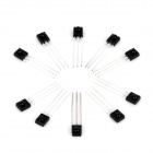 DIY 3-Pin Infrared IR Receiver - Black (10 PCS)