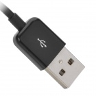 USB Male to 30-Pin Male Data / Charging Cable for Samsung Galaxy Note10.1 GT-N8000 - Black (100cm)