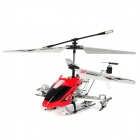Rechargeable 4-CH IR Remote Controlled R/C Helicopter w/ Gyro - Red