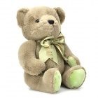 Lovely Plush Bear Doll w/ Bow - Glaucum