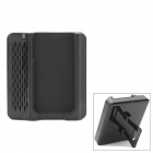 Crazy Speaker Amplifier with Adjustable Stand for Iphone 4 / 4S - Black