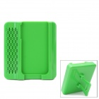 Crazy Speaker Amplifier with Adjustable Stand for Iphone 4 / 4S - Green