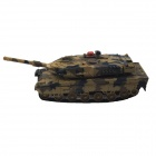Mini 1:16 27MHz Rechargeable 3-CH R/C Battle Tank - Camouflage Green