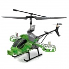 Rechargeable 4-CH IR Remote Controlled R/C Helicopter w/ Gyro - Green