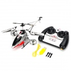 Rechargeable 4-CH IR Remote Controlled R/C Helicopter w/ Gyro - Red + Silver + Black
