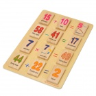 110-in-1 Matching Game Toy Wooden Educational Mathematics Domino Set