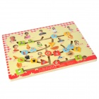 Family Membership Logical Educational Thinking Wooden Board
