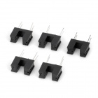 SG-206 Electronic Component Optocoupler Sensors - Black (5 PCS)