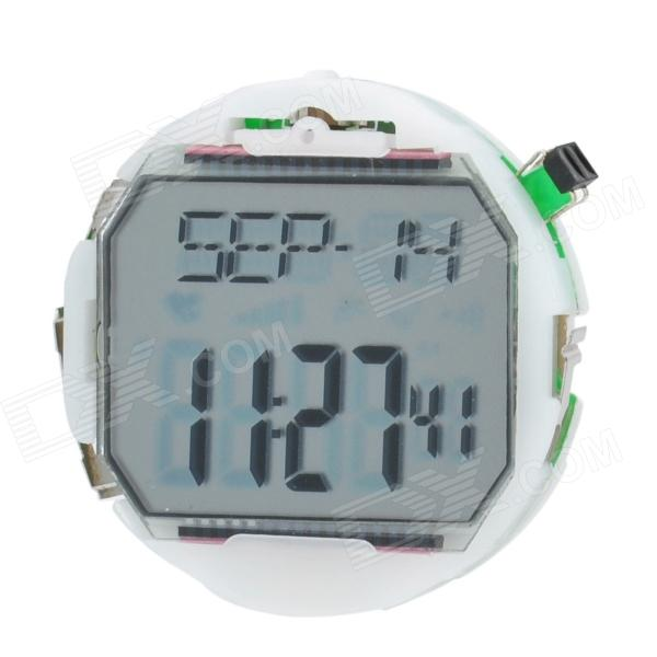 1.1 Screen Single Hand Heart Rate Watch Movement - White (1 x CR2032)