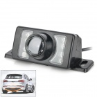 Car 2.4G Wireless CMOS120 Degree View Angle Rear View Camera w/ 7-IR LED - Black (DC 12V)
