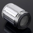 Water Temperature Visualizer Sensor LED Faucet Filter - Silver