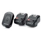 4-in-1 4-Channel 433MHz Wireless Remote Flash Trigger Set for Canon / Nikon / Pentax Camera