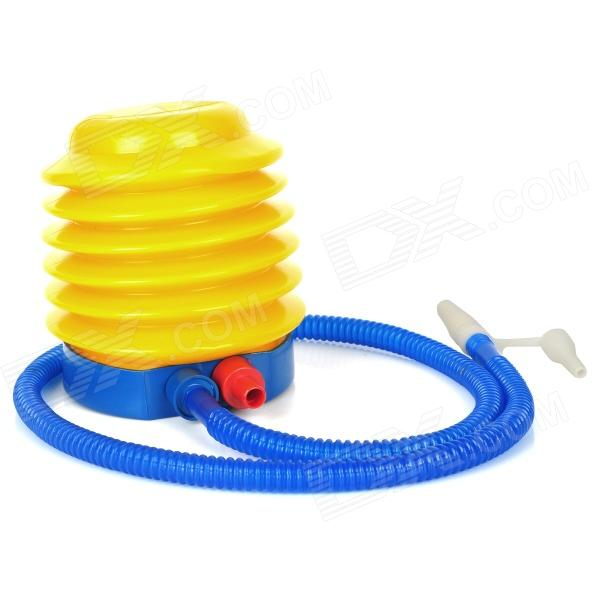 Fashion Foot Pump Tool for Inflatable Toy - Yellow + Blue factory direct inflatable trampoline inflatable jumping slide giant slide inflatable